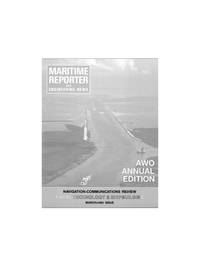 Maritime Reporter Magazine Cover Mar 1991 -