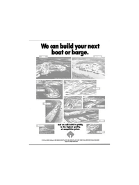 Maritime Reporter Magazine, page 4th Cover,  Mar 1991 Walter Marine Inc.