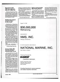 Maritime Reporter Magazine, page 11,  Jan 1992