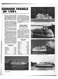 Maritime Reporter Magazine, page 17,  Jan 1992