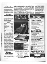 Maritime Reporter Magazine, page 21,  Jan 1992