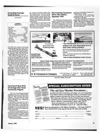 Maritime Reporter Magazine, page 25,  Jan 1992