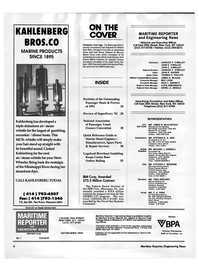 Maritime Reporter Magazine, page 2,  Jan 1992