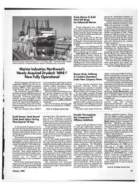 Maritime Reporter Magazine, page 3rd Cover,  Jan 1992