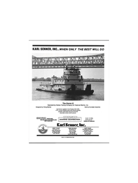 Maritime Reporter Magazine, page 3rd Cover,  Feb 1992