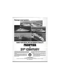 Maritime Reporter Magazine, page 23,  Feb 1992 Moss Point Marine Inc.