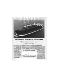 Maritime Reporter Magazine, page 40,  Feb 1992 Department of Defense