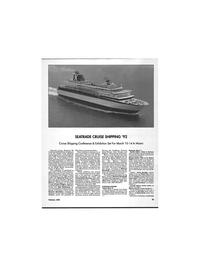 Maritime Reporter Magazine, page 59,  Feb 1992 Sunil Sreenivasan