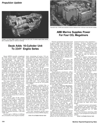 Maritime Reporter Magazine, page 3rd Cover,  Mar 1992