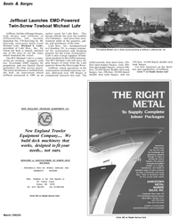 Maritime Reporter Magazine, page 4th Cover,  Mar 1992