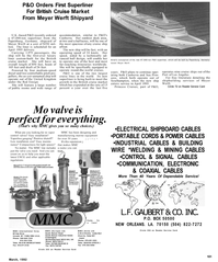 Maritime Reporter Magazine, page 21,  Mar 1992 Years of Dependable Service
