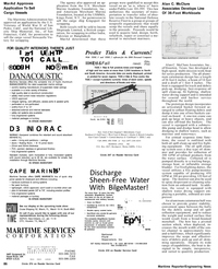Maritime Reporter Magazine, page 22,  Mar 1992