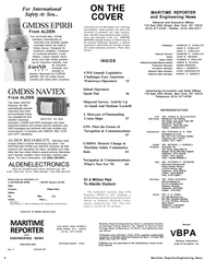 Maritime Reporter Magazine, page 2,  Mar 1992