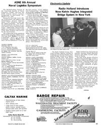 Maritime Reporter Magazine, page 43,  Mar 1992 Pennsylvania