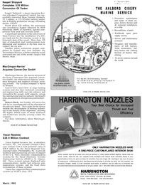 Maritime Reporter Magazine, page 49,  Mar 1992