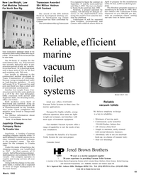Maritime Reporter Magazine, page 59,  Mar 1992