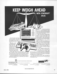 Maritime Reporter Magazine, page 81,  Mar 1992