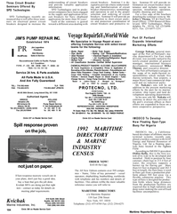 Maritime Reporter Magazine, page 14,  Apr 1992 West Coast