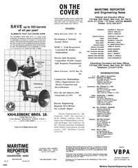 Maritime Reporter Magazine, page 2,  Apr 1992 Wisconsin