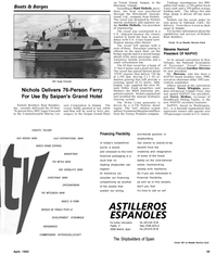Maritime Reporter Magazine, page 41,  Apr 1992 Gateway Clipper Fleet