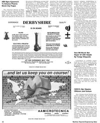 Maritime Reporter Magazine, page 44,  Apr 1992