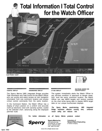 Maritime Reporter Magazine, page 45,  Apr 1992