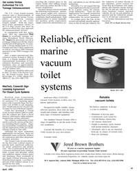 Maritime Reporter Magazine, page 49,  Apr 1992 Closed Cycle System