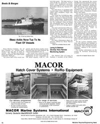 Maritime Reporter Magazine, page 58,  Apr 1992