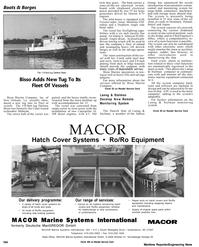 Maritime Reporter Magazine, page 59,  Apr 1992