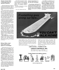 Maritime Reporter Magazine, page 60,  Apr 1992