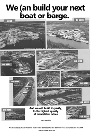 Maritime Reporter Magazine, page 76,  Apr 1992 LA Equitable Shipyards Inc.