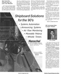 Maritime Reporter Magazine, page 6,  Apr 1992