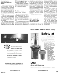 Maritime Reporter Magazine, page 82,  Apr 1992