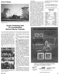 Maritime Reporter Magazine, page 21,  May 1992 Kentucky