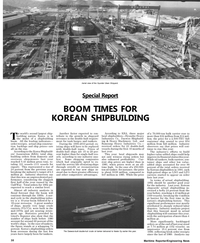 Maritime Reporter Magazine, page 30,  May 1992 double-hull crude oil tanker