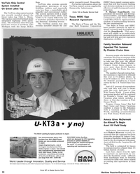 Maritime Reporter Magazine, page 52,  May 1992 Garry Mauro