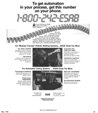 Maritime Reporter Magazine, page 73,  May 1992 equipment manufacturer