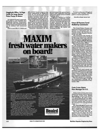 Maritime Reporter Magazine, page 108,  Jun 1992 John R. Dawson