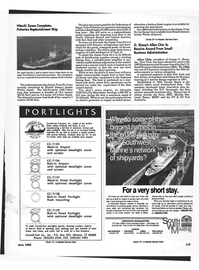 Maritime Reporter Magazine, page 115,  Jun 1992 Connecticut
