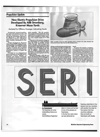Maritime Reporter Magazine, page 12,  Jun 1992 KMY Arctic Research Center