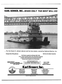 Maritime Reporter Magazine, page 2nd Cover,  Jun 1992 Louisiana