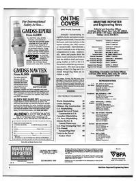 Maritime Reporter Magazine, page 2,  Jun 1992 KAREN BREEN