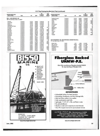 Maritime Reporter Magazine, page 49,  Jun 1992 Hawaii