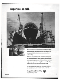 Maritime Reporter Magazine, page 61,  Jun 1992 Tenneco Company