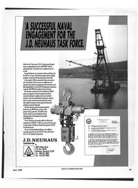 Maritime Reporter Magazine, page 79,  Jun 1992 Crane