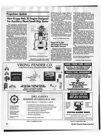 Maritime Reporter Magazine, page 84,  Jun 1992 Gavio Marine