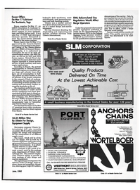 Maritime Reporter Magazine, page 85,  Jun 1992 marine product services