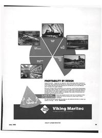 Maritime Reporter Magazine, page 89,  Jun 1992 ship hull characteristic computer software