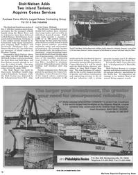 Maritime Reporter Magazine, page 10,  Jul 1992 Rhine River