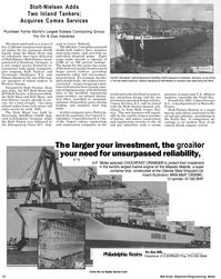 Maritime Reporter Magazine, page 12,  Jul 1992 Rhine River